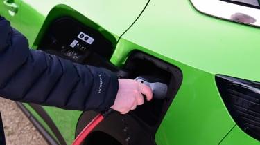 Vauxhall Mokka-e - charging