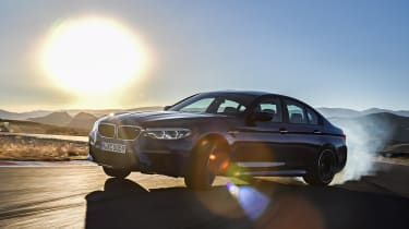 BMW M5 - sunset