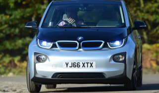 Long-term test review: BMW i3 REx John front cornering