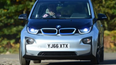 Long-term test review: BMW i3 REx John front cornering
