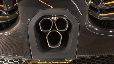 McLaren Senna Carbon Theme exhaust