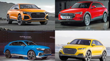 Audi SUVs - header