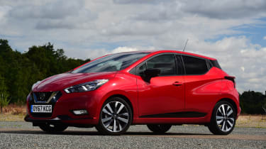 Nissan Micra - front static