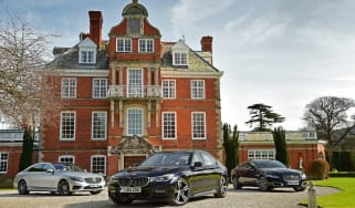 BMW 7 Series vs Mercedes S-Class vs Jaguar XJ - header
