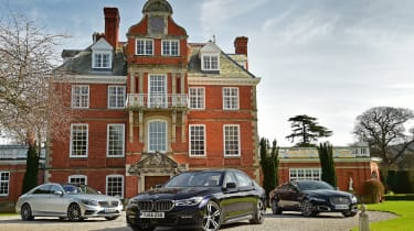 BMW 7 Series vs Mercedes S-Class vs Jaguar XJ - header