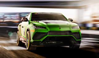 Lamborghini Urus ST-X - front action