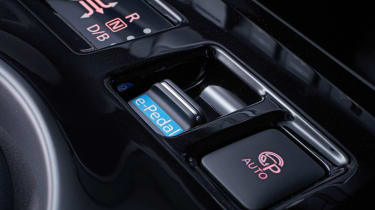 New Nissan Leaf - e pedal