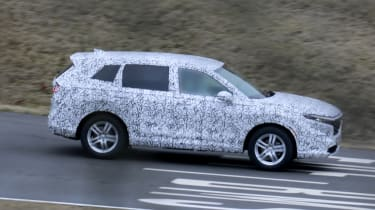 Honda CR-V spied - side