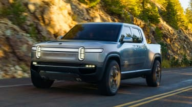 Rivian R1T - front