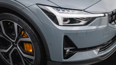 Polestar 2 prototype - front light