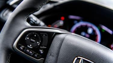 Honda Civic 2016 prototype - steering wheel 2