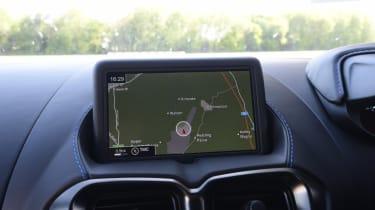 Aston Martin Vantage sat nav
