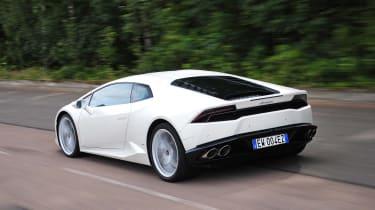 New Lamborghini Huracan rear