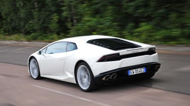 New Lamborghini Huracan rear
