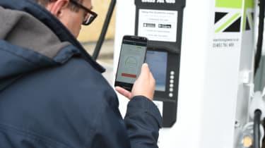 Long-term test - VW e-golf - charging