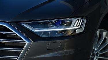 New Audi A8 2017 - headlight