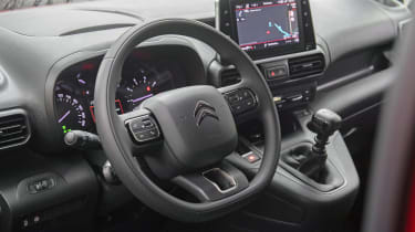Citroen Berlingo Van dashboard