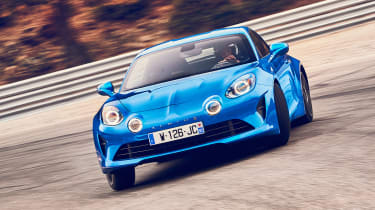 Alpine A110 - front drift