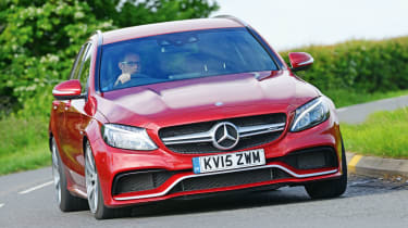 Mercedes-AMG C 63 Estate - front cornering