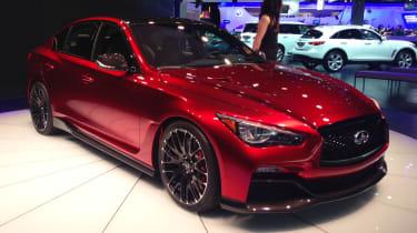 Infiniti Eau Rouge concept - Detroit Motor Show 2014