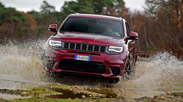 Jeep Grand Cherokee Trackhawk - off-road