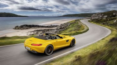 Mercedes-AMG GT S Roadster rear outside