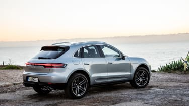Porsche Macan S - rear static