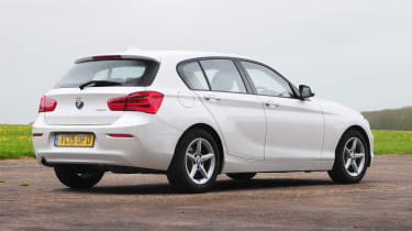BMW 1 Series - rear static