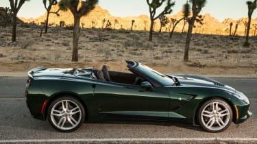 Chevrolet Corvette Stingray Convertible profile