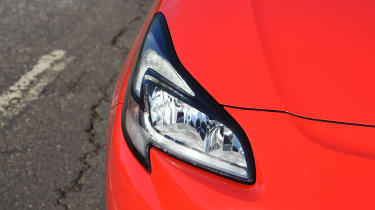 Vauxhall Corsa Red Edition - headlight