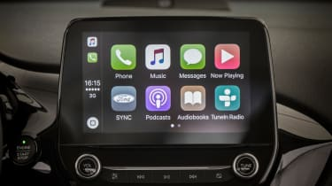 Ford Fiesta ST-Line - Apple CarPlay