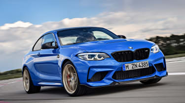 BMW M2 CS - front action