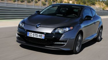 Renaultsport Megane 265 front tracking