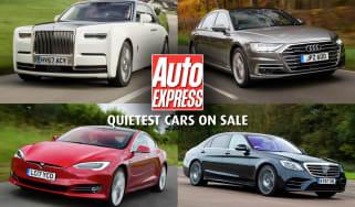 Quietest cars on sale - header