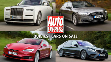 Quietest cars on sale - header