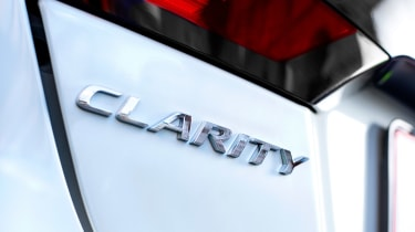 Honda Clarity - Clarity badge