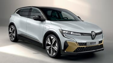 Renault Megane E-Tech Electric SUV - front/side