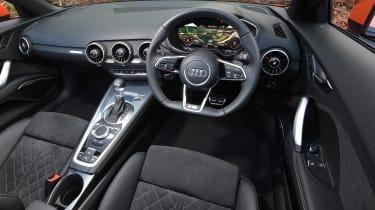 Audi TT Roadster - cabin