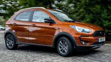 Ford Ka+ Active side profile