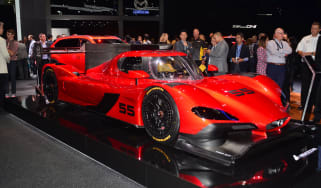 Mazda RT24-P racing car - LA Motor Show