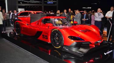 Mazda RT24-P racing car - LA Motor Show