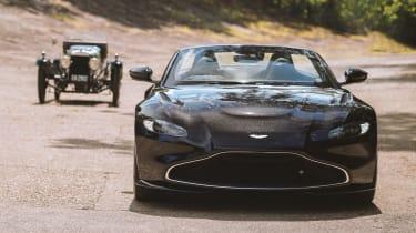 Aston Martin A3 Vantage Roadster - full front