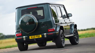 Mercedes G 400 d 2021 review - rear