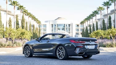 BMW 8 Series Convertible - rear static