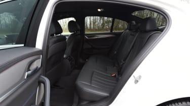 BMW 5 Series 520d xDrive 2017 - rear seats