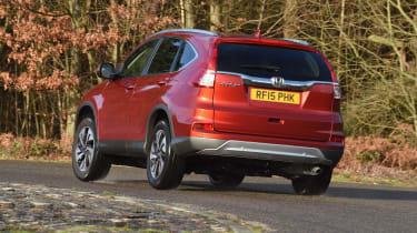 Honda CR-V long-termer - cornering rear