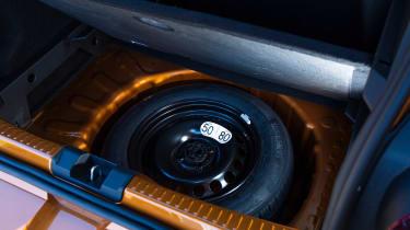 Dacia Sandero Stepway long termer - first report spare wheel