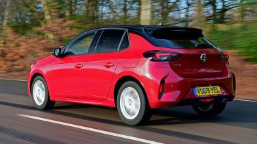 Vauxhall Corsa - rear tracking