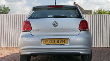 Used Volkswagen Polo - full rear