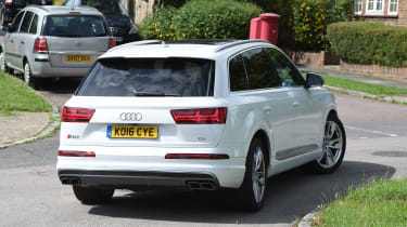 Audi SQ7 long-term final report - rear